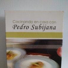 Nuevo: COVINA. PACK COCINANDO EN CASA CON PEDRO SUBIJANA. PRECINTADO. 5 DVD.. Lote 128641218