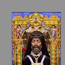 Nuevo: AZULEJO 20X30 DE NUESTRO PADRE JESÚS NAZARENO RESCATADO DE CÓRDOBA. Lote 129581491