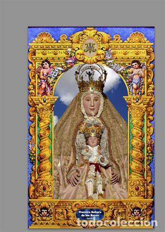 AZULEJO 20X30 DE NUESTRA SEÑORA DE LOS REYES (PATRONA DE SEVILLA ) (Artículos Nuevos)