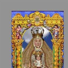 Nuevo: AZULEJO 20X30 DE NUESTRA SEÑORA DE LOS REYES (PATRONA DE SEVILLA ). Lote 130403898