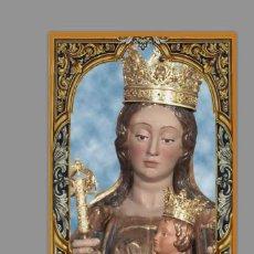 Nuevo: AZULEJO 20X30 DE SANTA MARÍA DE LA VICTORIA (PATRONA DE MÁLAGA). Lote 131094984
