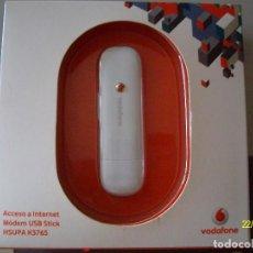 Nuevo: ACCESO A INTERNET MODEM USB STICK HSUPA K3765 ADSL VODAFONE SIN USAR COMPATIBLE CON PC O MAC. Lote 138749861