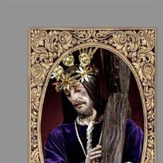Nuevo: AZULEJO 20X30 DE NUESTRO PADRE JESÚS NAZARENO DE AGUILAR DE LA FRONTERA. Lote 132303142