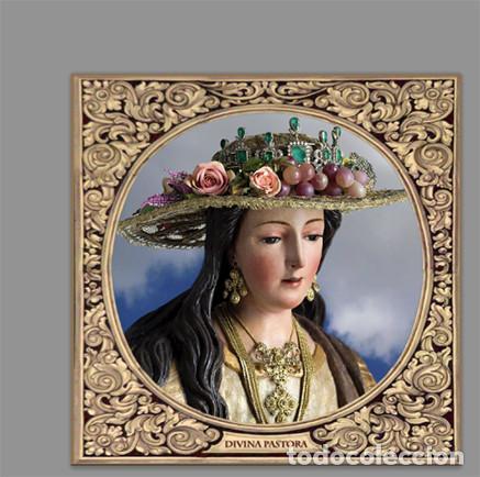 AZULEJO 15X15 DE LA DIVINA PASTORA DE CANTILLANA (Artículos Nuevos)