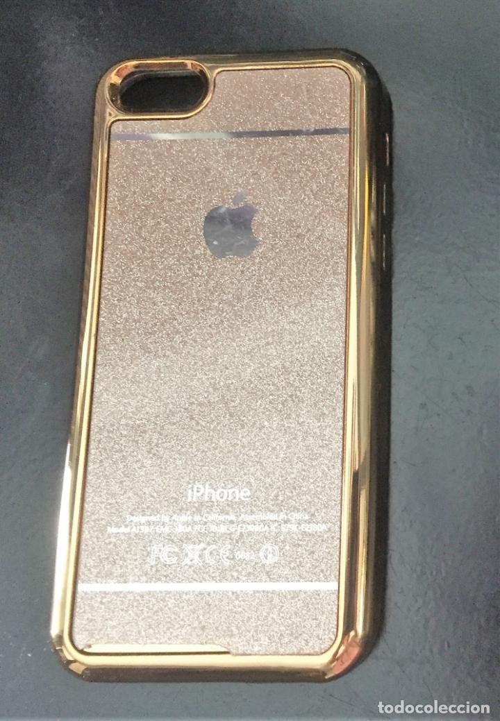 Funda Glitter Brillo Tpu Logo Apple iPhone 5 / 6