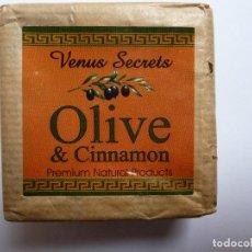 Nuovo: JABÓN DE OLIVA. VENUS SECRETS. OLIVE & CINNAMON. Lote 135415522