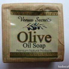Nuovo: JABÓN DE OLIVA. VENUS SECRETS. OLIVE OIL SOAP. Lote 135415614