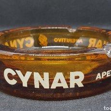 Nuevo: CENICERO CRISTAL- CYNAR - 14 CM DE DIAMETRO - CAR121. Lote 137904090