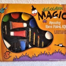 Nuevo: SET O KIT DE MAQUILLAGE HALLOWEEN MAGIC SPOOKY FACE PAINT KIT . Lote 138903370