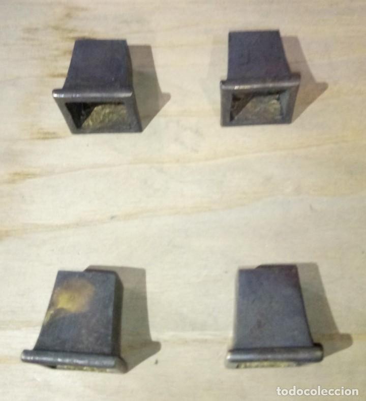 Nuevo: LOTE PATAS ANTIHUMEDAD MUEBLES EN BRONCE - Foto 3 - 176119150