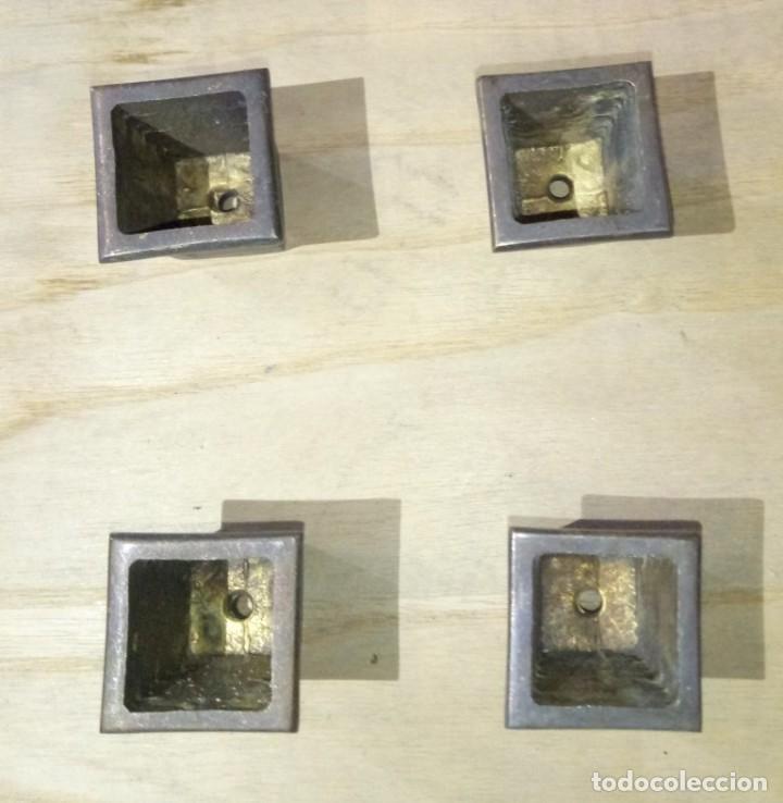 Nuevo: LOTE PATAS ANTIHUMEDAD MUEBLES EN BRONCE - Foto 4 - 176119150