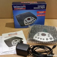 Nuevo: CONTESTADOR AUTOMÁTICO DIGITAL / TELECOM 1540 / NUEVO SIN USAR / COMPLETO.. Lote 139442550