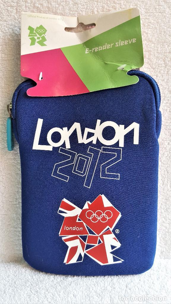 FUNDA ACOLCHADA PARA TABLET, MOVIL U OTRO TEAM GB LONDON 2012 CON CREMALLERA - 13.5.CM X 20.CM APROX (Artículos Nuevos)