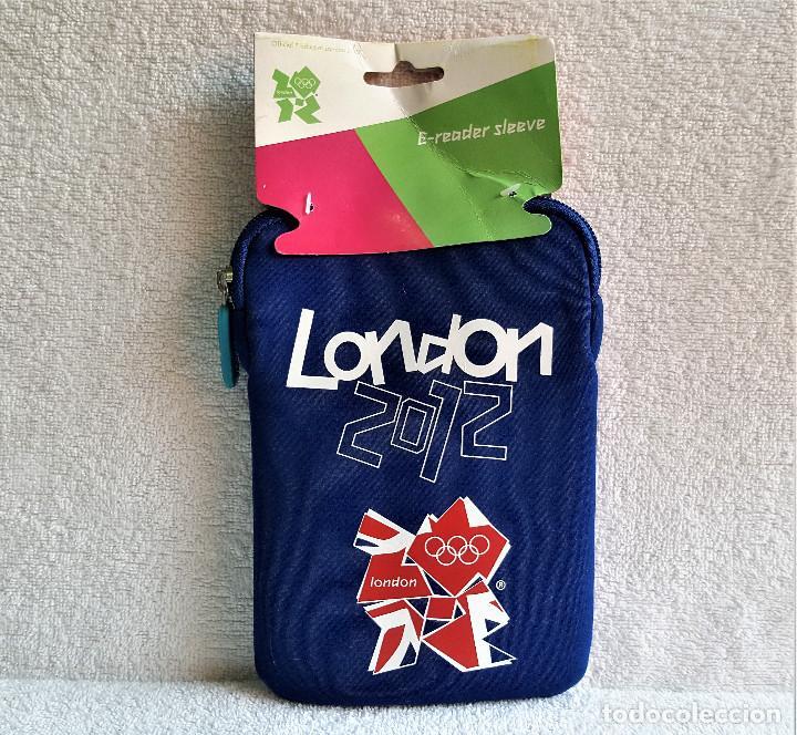 Nuevo: FUNDA ACOLCHADA PARA TABLET, MOVIL U OTRO TEAM GB LONDON 2012 CON CREMALLERA - 13.5.CM X 20.CM APROX - Foto 2 - 173586603