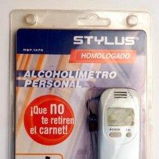 Novo: ALCOHOLÍMETRO PERSONAL STYLUS. HOMOLOGADO. NUEVO. Lote 145284986