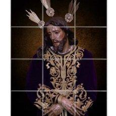 Nuevo: RETABLO CON 12 AZULEJOS 10X10 CTM DE NUESTRO PADRE JESÚS DEL PRENDIMIENTO DE JEREZ DE LA FRONTERA. Lote 146728802