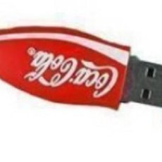 Nuevo: PENDRIVE 8GB BOTELLA COCA-COLA (MODEL 1). Lote 149654118