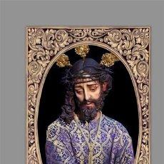 Nuevo: AZULEJO 20X30 DE NUESTRO SEÑOR JESÚS DE LA PAZ EN EL DESPRECIO DEL PUEBLO DE JEREZ DE LA FRONTERA. Lote 154600778