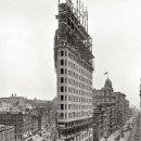 Nuevo: FOTOGRAFIA ANTIGUA DE EE.UU. CONSTRUCION DEL EDIFICIO FLATIRON BUILDING EN NUEVA YORK. Lote 161030698