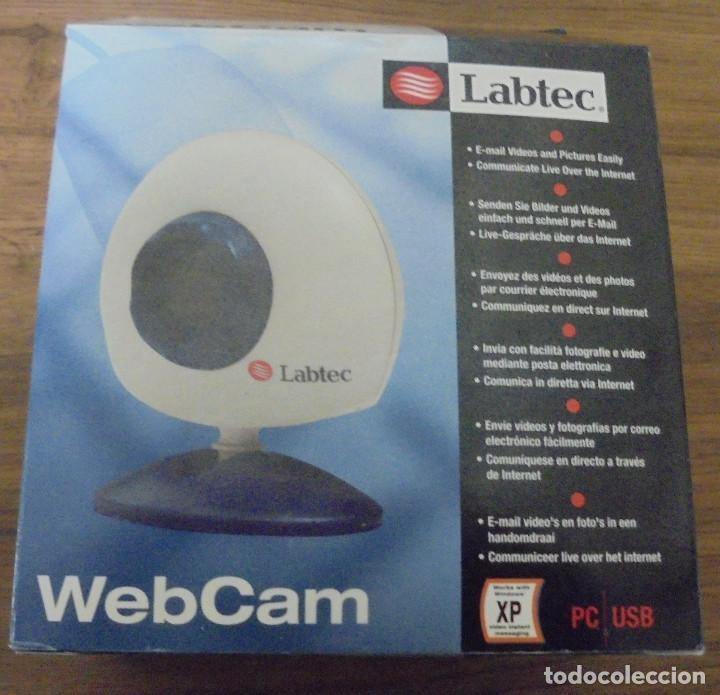 WEB CAM LABTEC PC USB ARTICULO NUEVO. (Artículos Nuevos)
