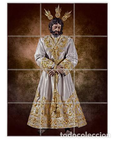 RETABLO DE 12 AZULEJOS 10X10 DE NUESTRO PADRE JESÚS DE LA PAZ DE SEVILLA (COFRADIA CARMEN DOLOROSO) (Artículos Nuevos)