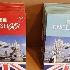 Nuevo: BBC / ENGLISH GO ! CURSO INTERACTIVO MULTIMEDIA / 29 CDS + 27 DVD / A ESTRENAR.. Lote 166101922