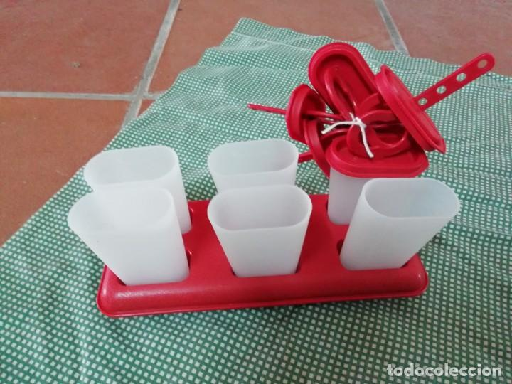 Nuevo: Moldes para hacer helados - tupperware - Foto 2 - 168760184