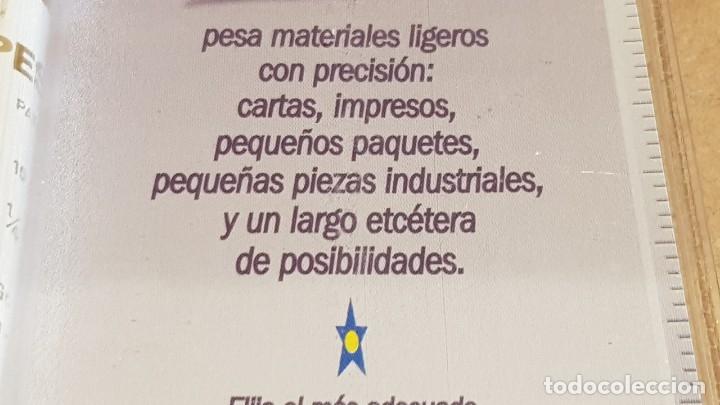 Nuevo: PESNET / BÁSCULA DE PRECISIÓN, CORREOS, JOYERÍA Y PEQUEÑO OBJETO HASTA 300 GRAMOS. BLISTER ORIGINAL. - Foto 4 - 169915386