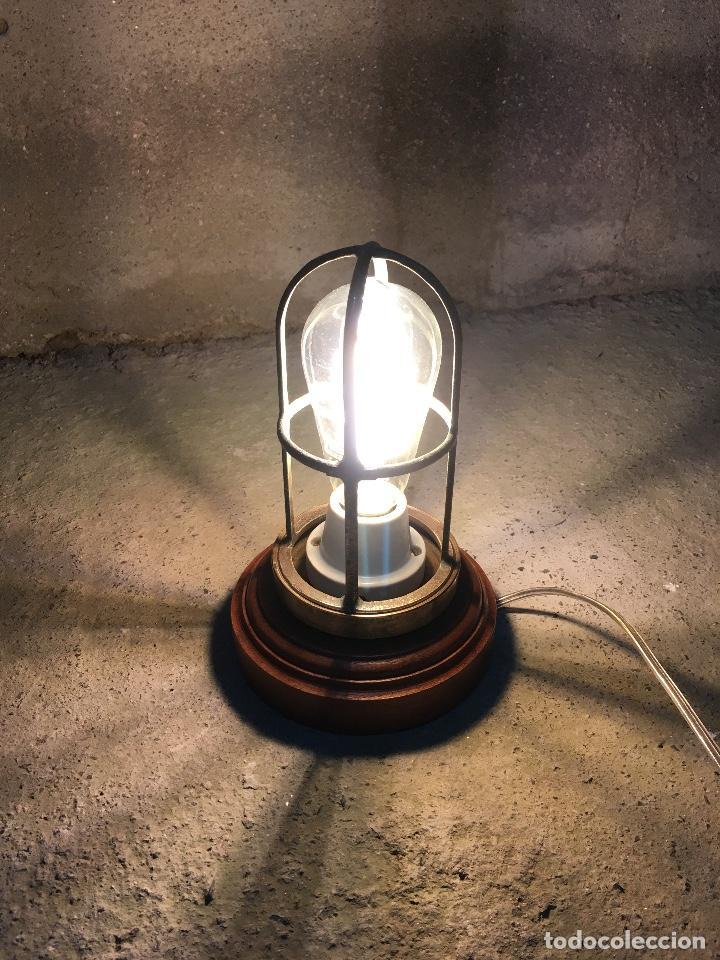 LAMPARA ORIGINAL, ARTESANAL. (Artículos Nuevos)