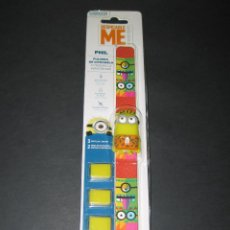 Nuevo: PULSERA ANTI-MOSQUITOS DE CITRONELA - MINIONS - PHIL - DESPICABLE ME - MINION MADE - SIN ABRIR!!!. Lote 170205932