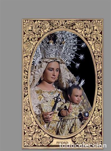 AZULEJO 20X30 DE LA VIRGEN DE LA PIEDAD (PATRONA DE CORTEGANA-HUELVA) (Artículos Nuevos)