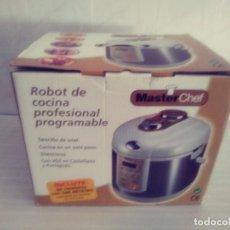 Nuevo: ROBOT DE COCINA MASTER CHEF. Lote 171678668