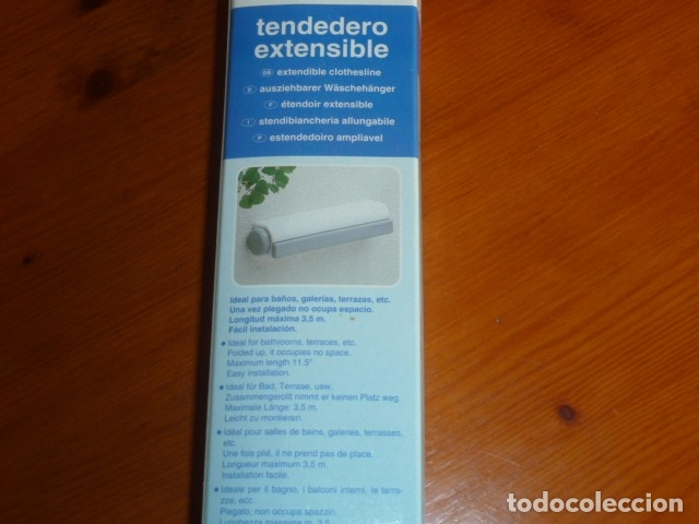Nuevo: Tendedero extensible Rayen. Nuevo - Foto 7 - 174034449