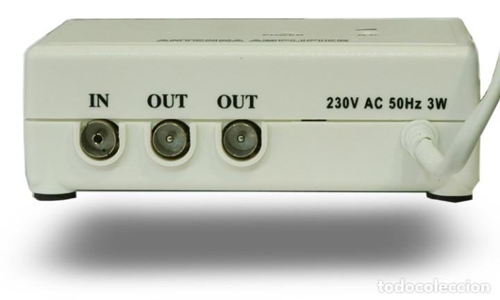 Nuevo: AMPLIFICADOR SEÑAL ANTENA TV TDT TELEVISION 2 SALIDAS DE SEÑAL SIGNAL AMPLIFIER ANTENNA - Foto 3 - 195325398