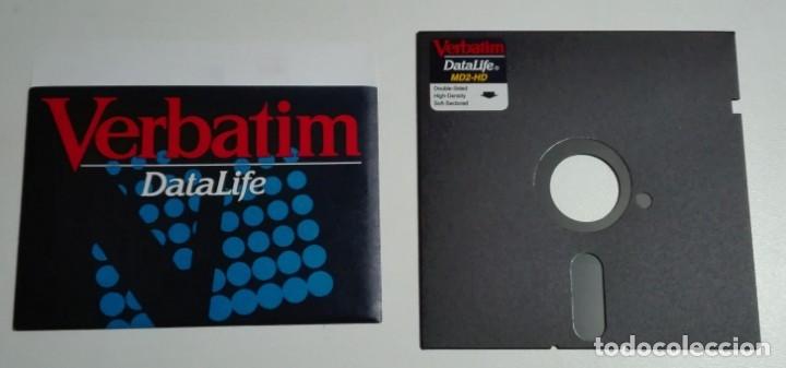 Nuevo: Caja completa con 15 antiguos diskettes de 5,25 pulgadas (marca Verbatim) - Foto 2 - 176217123