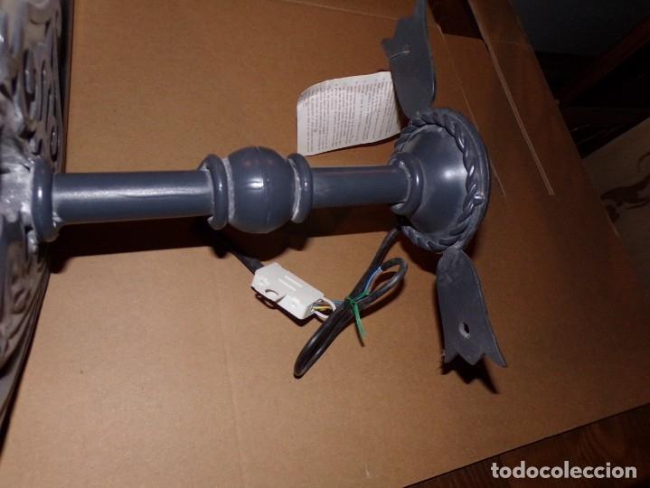 Nuevo: lampara exterior de hierro nueva - Foto 3 - 176732775