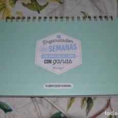 Nuevo: ORGANIZADOR DE SEMANAS DE MR WONDERFUL. Lote 177744020