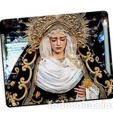 Nuevo: BONITA ALFOMBRA DE RATÓN DE MARÍA SANTÍSIMA DE GRACIA Y AMPARO DE SEVILLA. Lote 181110220