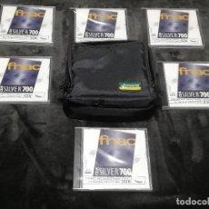 Neuf: LOTE DE 6 CD-R GRABABLES FNAC SILVER 700 PRECINTADOS + FUNDA - PESO: 664 GRAMOS -. Lote 181760167