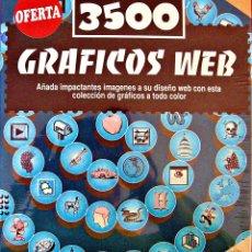 Nuevo: SOFTWARE 3500 GRAFICOS WEB. Lote 183000046