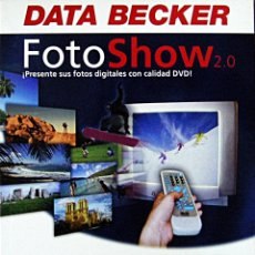 Nuevo: SOFTWARE FOTOSHOW 2.0 (1 CD-ROM). Lote 183000255