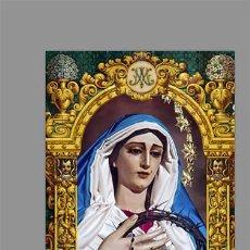 Nuevo: AZULEJO 20X30 CON MARIA SANTISIMA DE LAS PENAS DE CÁDIZ (COFRADÍA DE LA PALMA). Lote 183573150