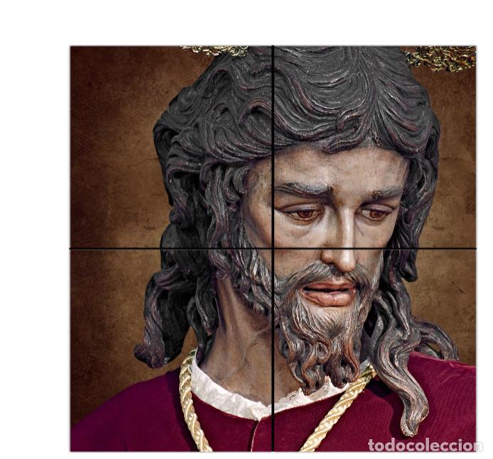 RETABLO DE 4 AZULEJOS 15X15 CTM DEL CRISTO DE SAN GONZALO DE TRIANA (SEVILLA) (Artículos Nuevos)