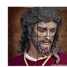 Nuevo: RETABLO DE 4 AZULEJOS 15X15 CTM DEL CRISTO DE SAN GONZALO DE TRIANA (SEVILLA). Lote 184271726
