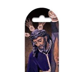 Nuevo: MARCA PÁGINA DE PLÁSTICO DEL SANTÍSIMO CRISTO DE LAS TRES CAÍDAS (TRES CAIDAS DE TRIANA). Lote 186227096