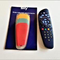 Nuevo: SKY TV DIGITAL CONTROL REMOTO + 3 CARCASAS DE RECAMBIO. Lote 190767958