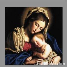 Nuevo: AZULEJO 15X15 DE LA VIRGEN MARIA Y EL NIÑO JESÚS. Lote 191760353