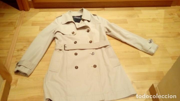 Nuevo: Gabardina de mujer Easy Wear básica con cinturón · - Foto 2 - 191846717
