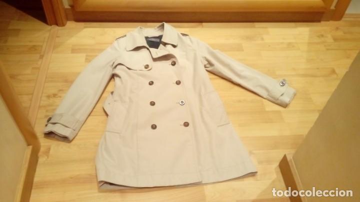 Nuevo: Gabardina de mujer Easy Wear básica con cinturón · - Foto 6 - 191846717