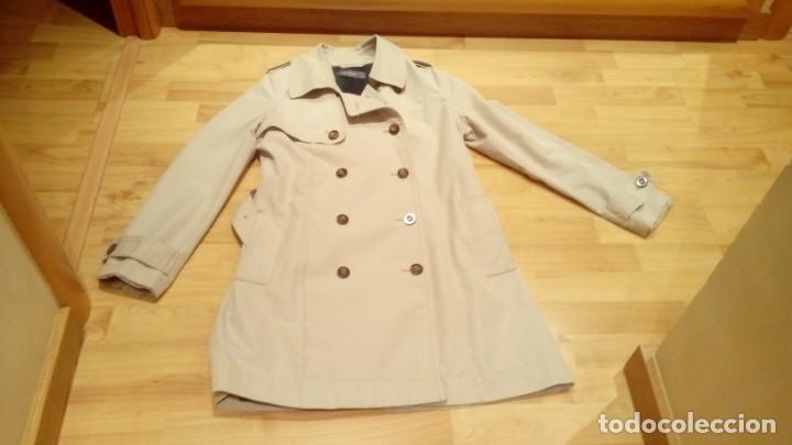 Nuevo: Gabardina de mujer Easy Wear básica con cinturón · - Foto 8 - 191846717